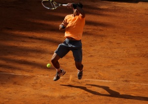 Rafael Nadal in Rome