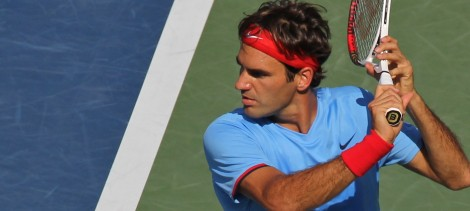 Roger Federer at the US Open 2012