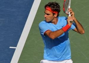 Roger Federer at the US Open 2012