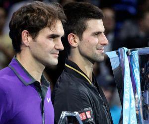 Novak Djokovic defeats Roger Federer to win WTF trophy