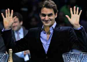 Federer won the ATP Fans' Favourite Award for the 10th straight year