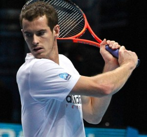 Andy Murray at the WTFs 2012